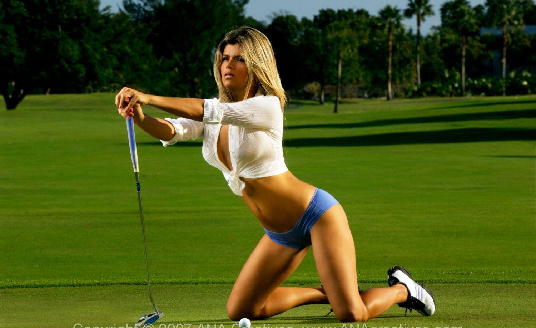Hot golfer girls nude