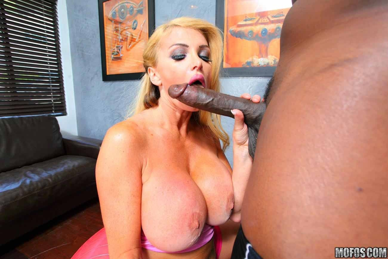 best of Mom cumshot with tits sex Big