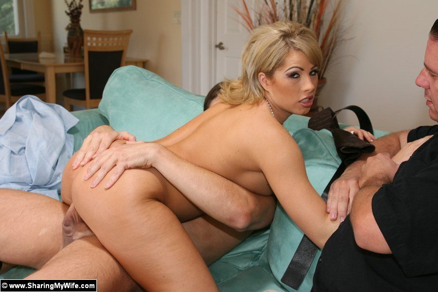 best of Fucking their men watching wifes Men other
