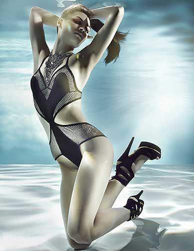 Underwater glamor erotic