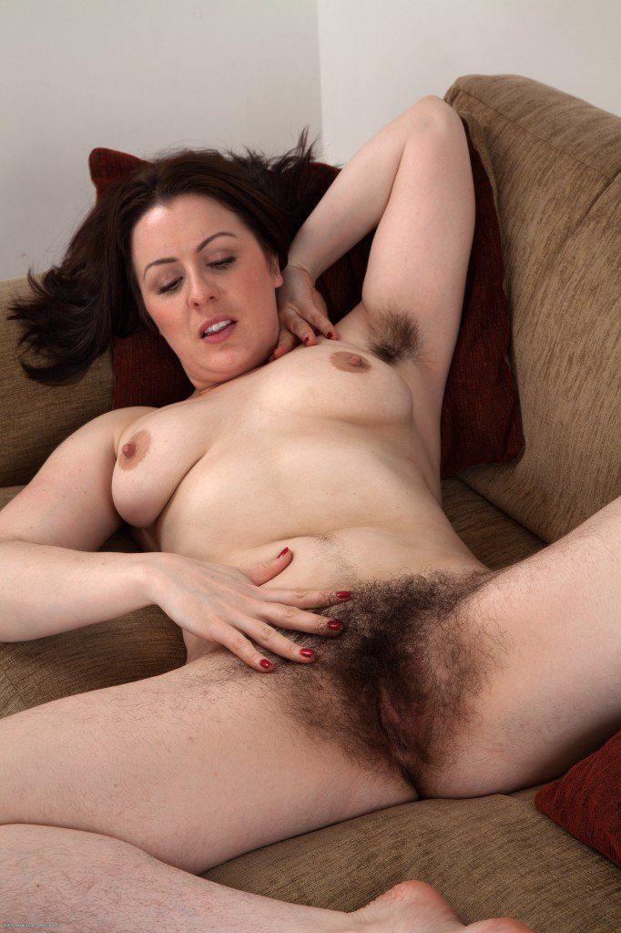 Hairy fat women naked are