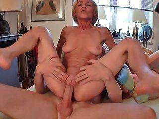 Busty grannny anal free tube