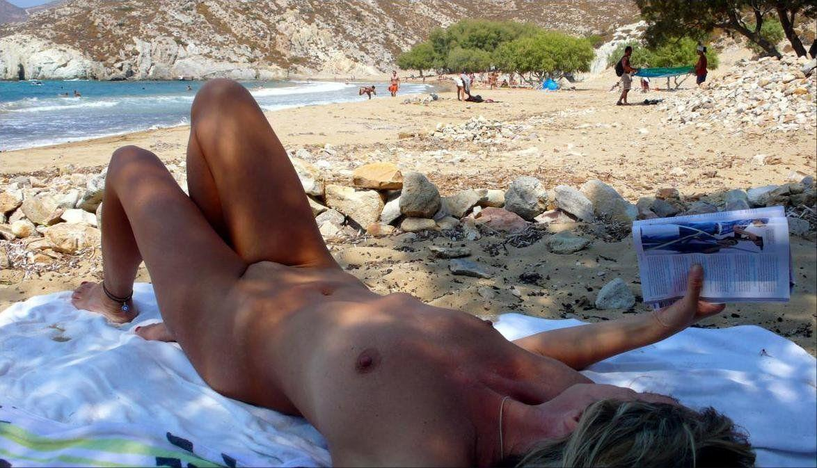 Nudist beach sidari corfu