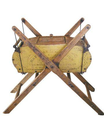 best of Swinging butter churn Cradle rocking
