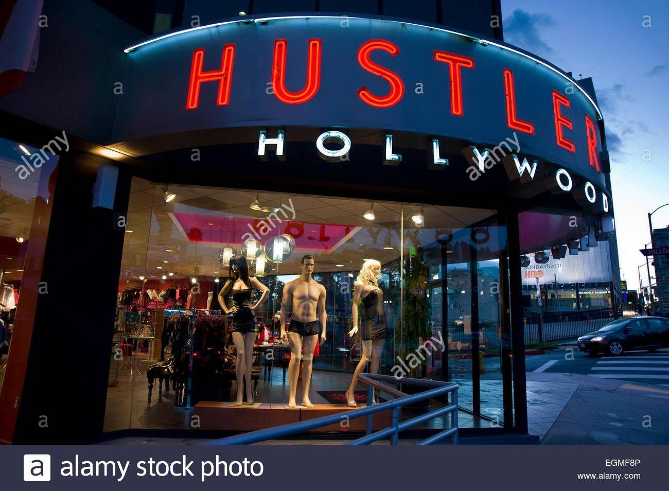 Hustler store sunset strip