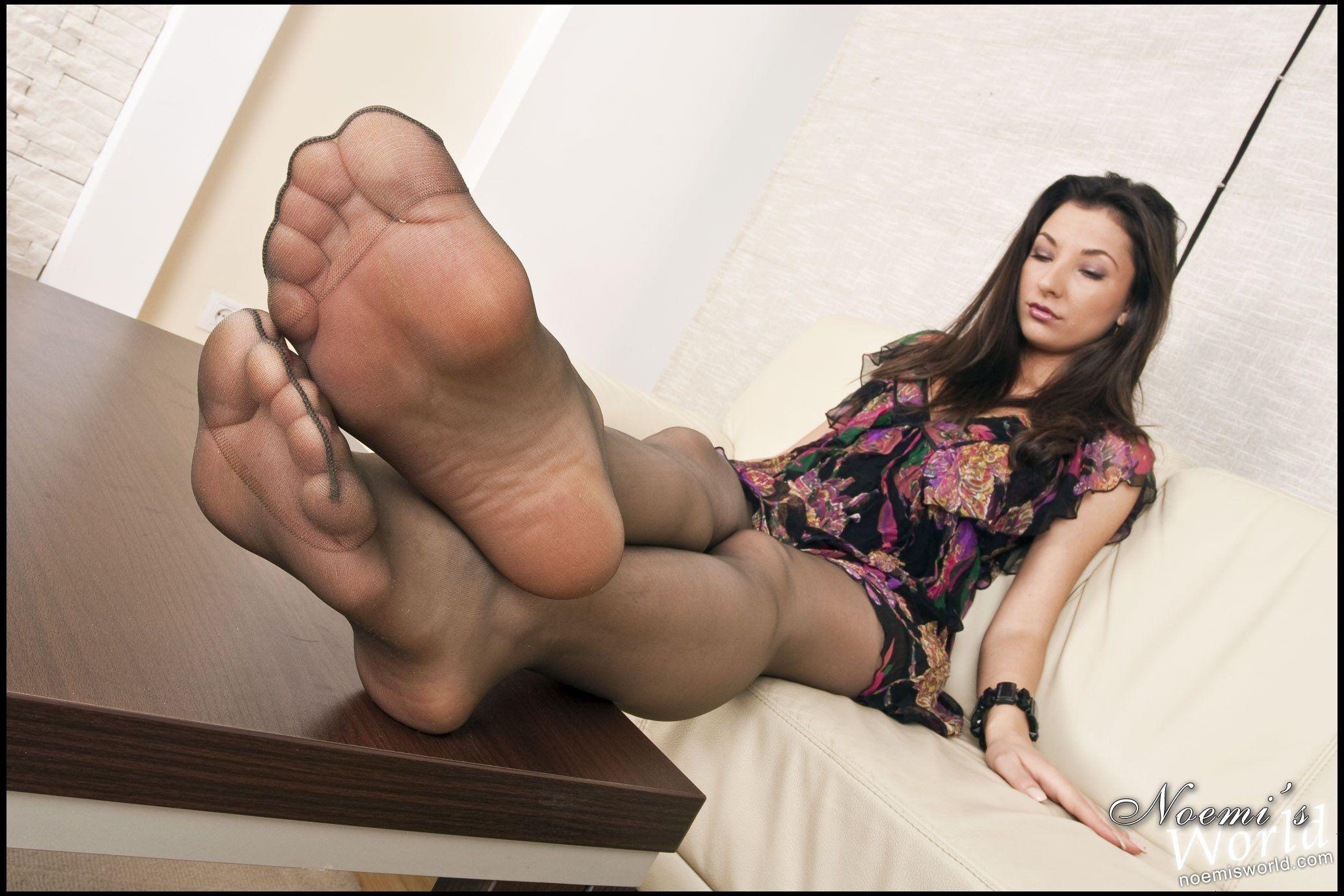 best of Feet video Pantyhose licking