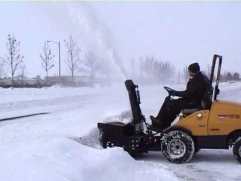 Hustler z snowblower