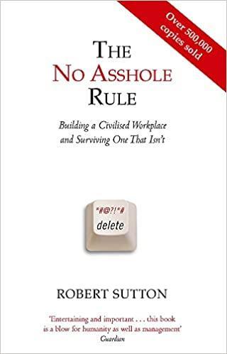 Bob sutton no asshole rule