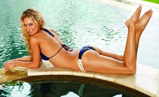 European model bikini