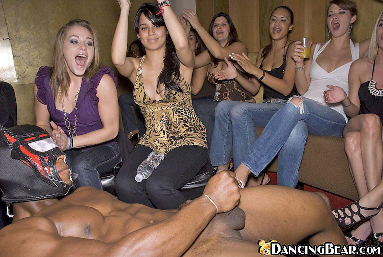 Girl watching guy jack off