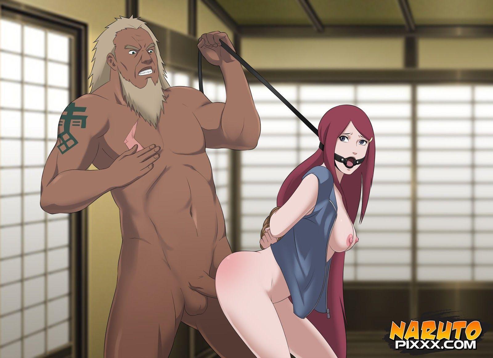 Naked boob butt