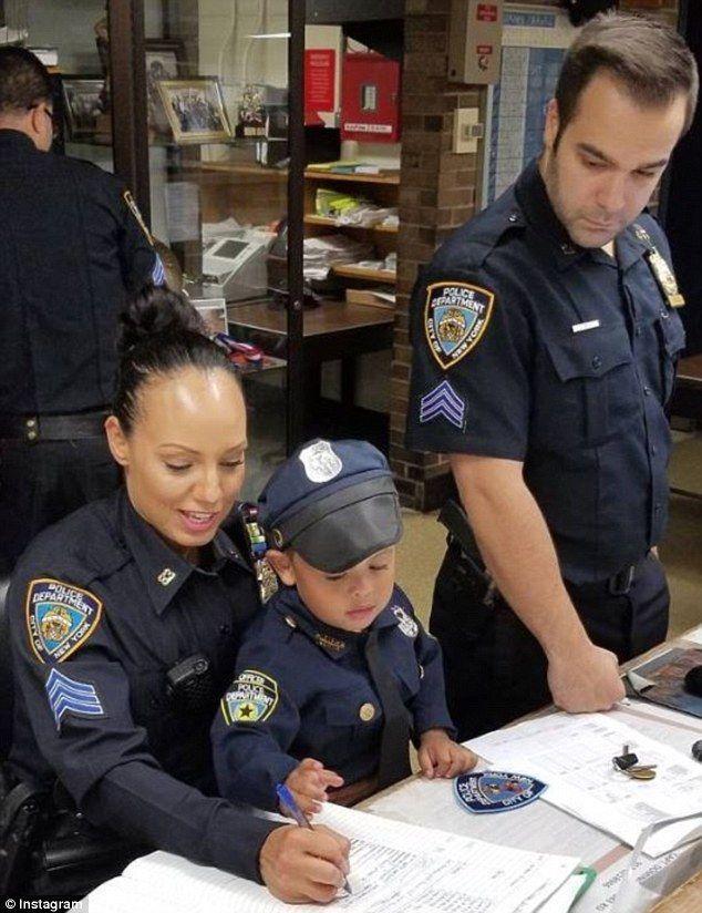 Busty cop adventures
