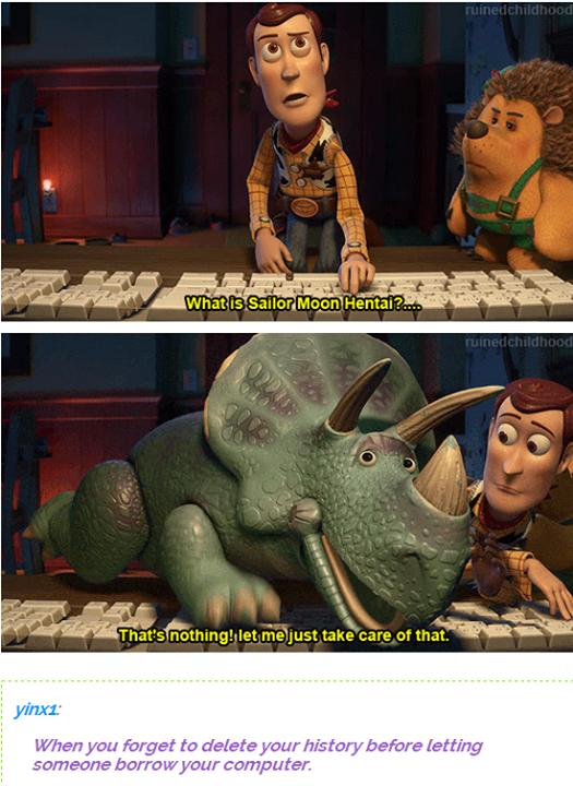 Toy story 3 dinosuars hentai