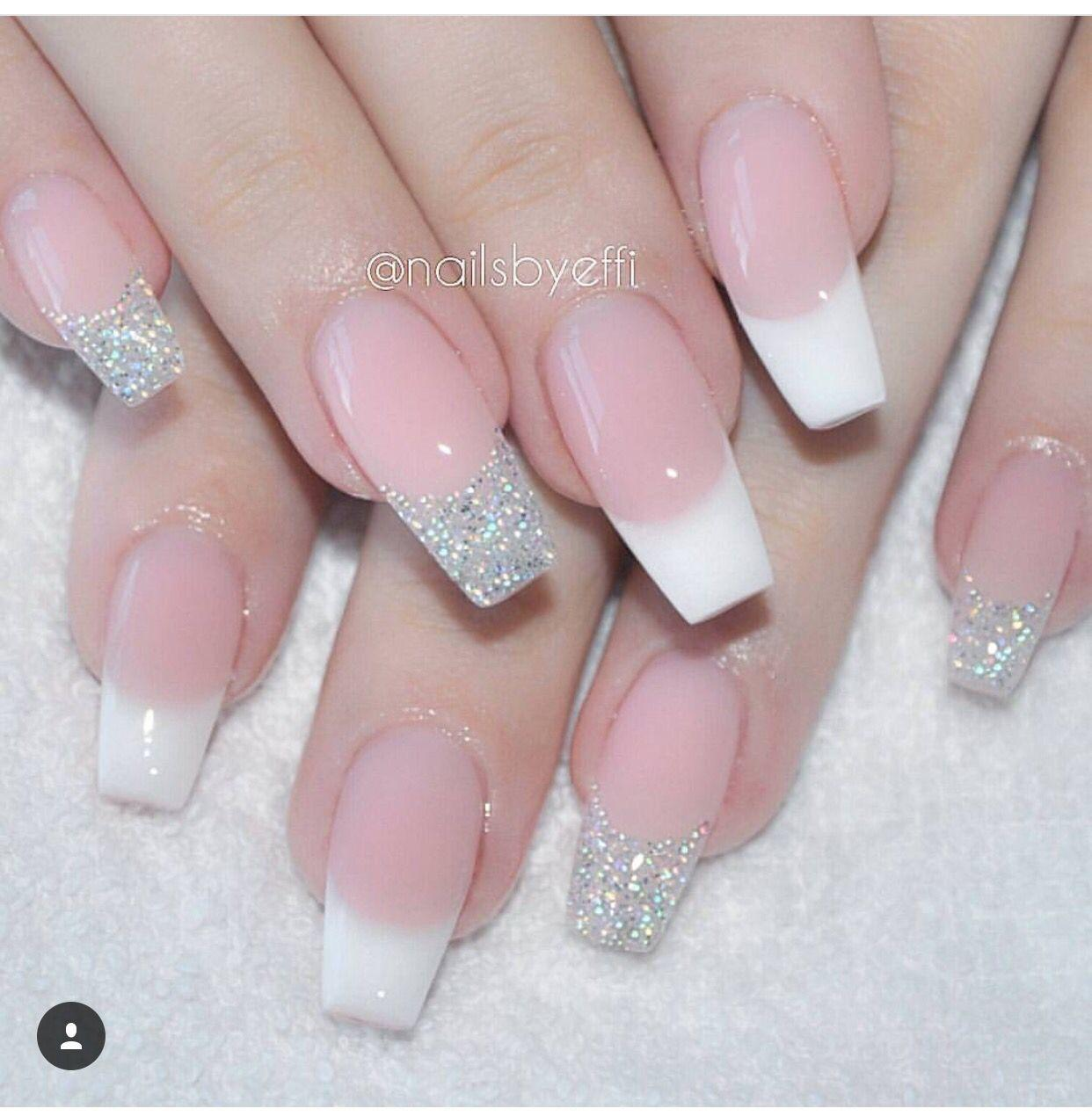 best of French manicure nail picture Fetish