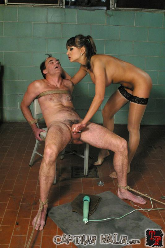 Femdom free captive male video clips