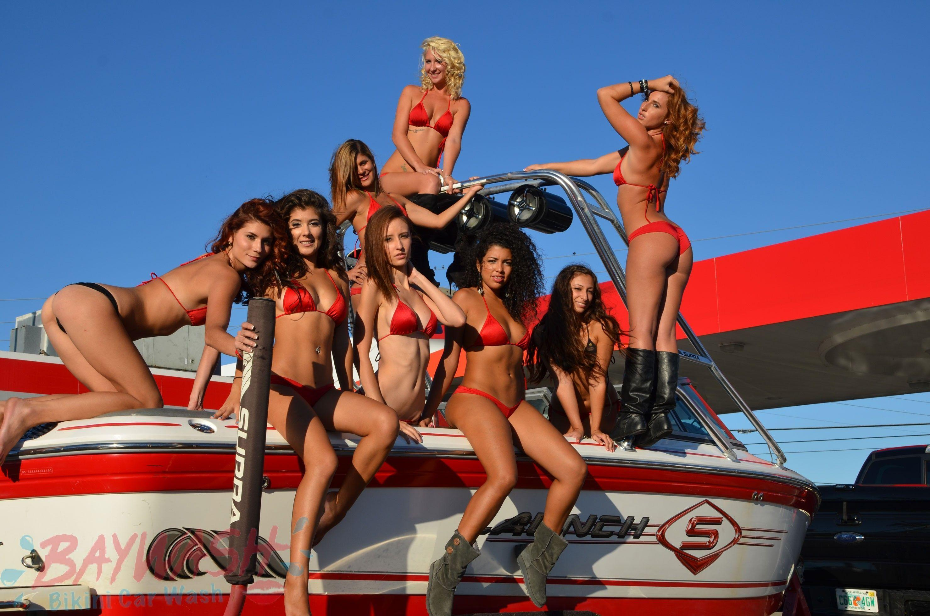Ice reccomend Bikini boat wash