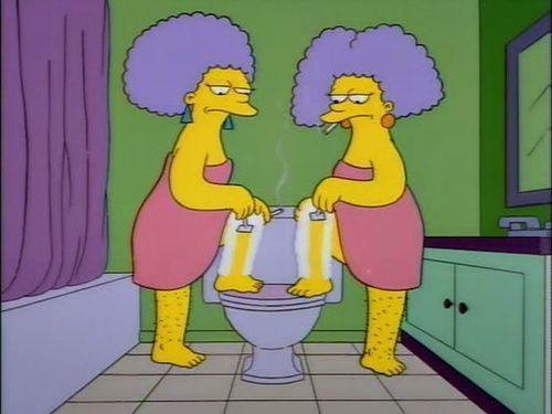 best of Twins simpson Lesbian