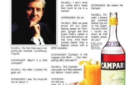 best of Ad hustler Campari falwell