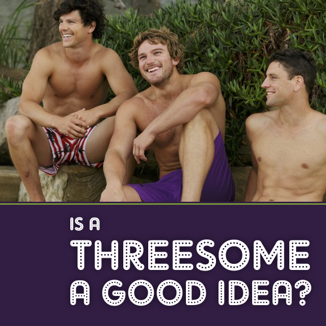 best of Male threesome Gay
