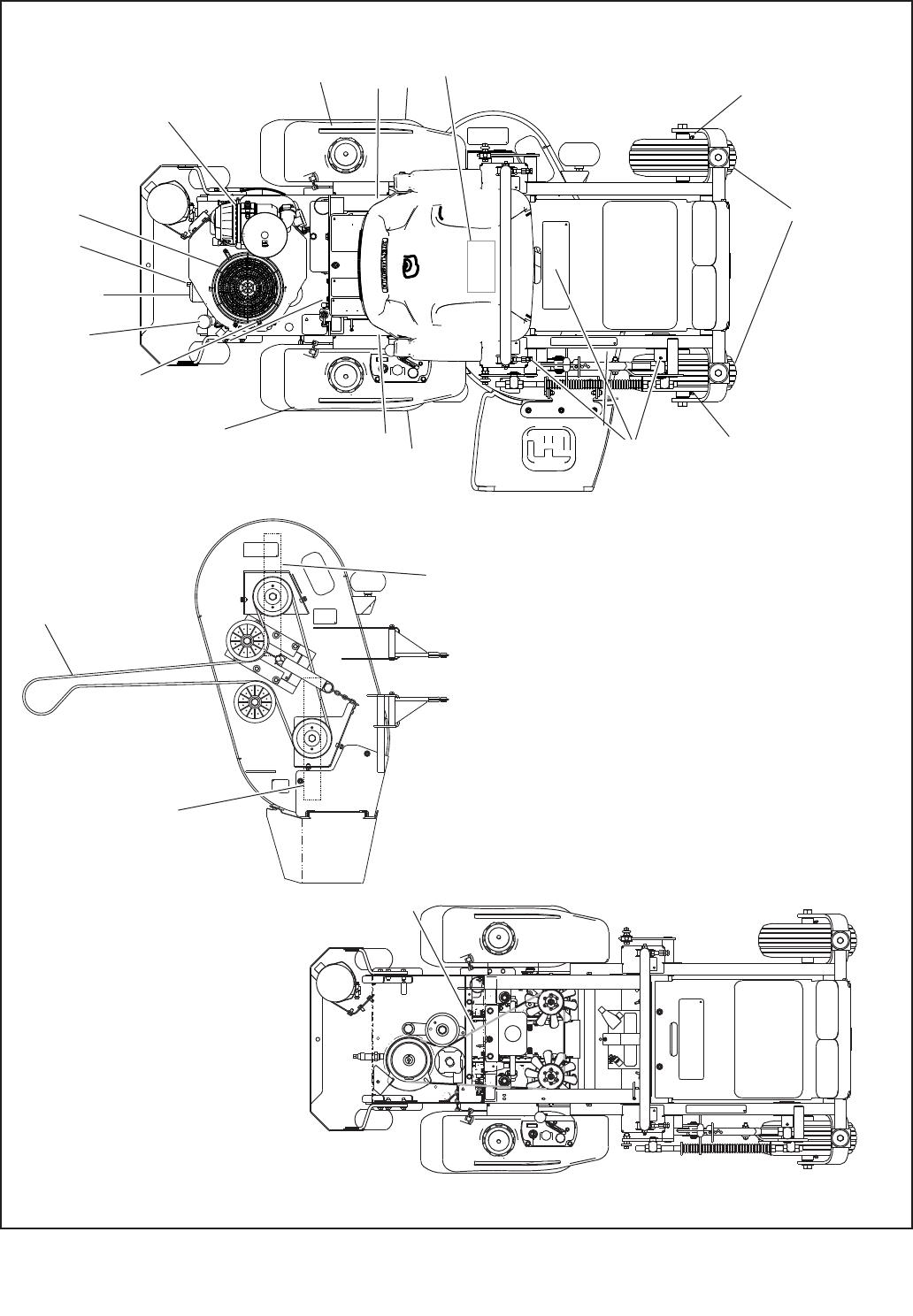 Hustler mini fast track parts breakdown