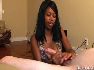 Sabre-Tooth reccomend Ebony handjob movies free