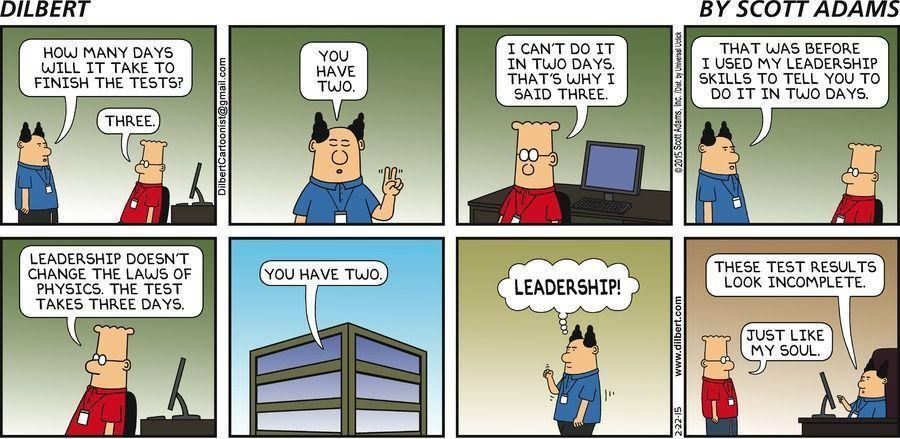 Handy M. reccomend Dilbert comic strip 2 23 2018