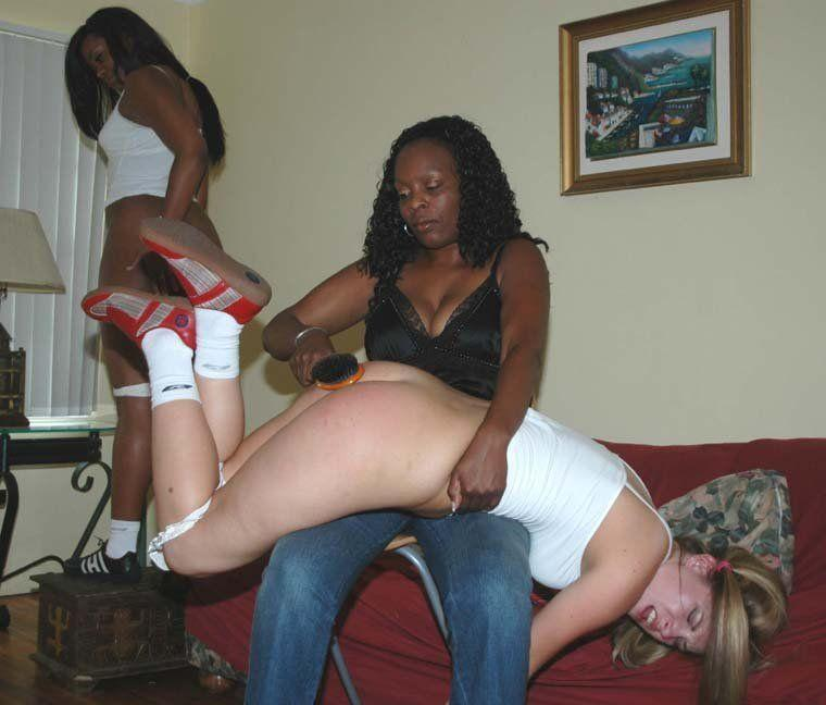 Interracial spank tgp