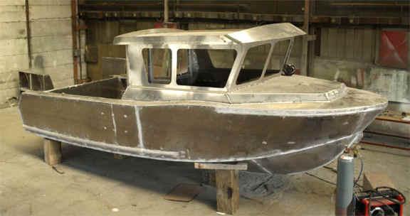 Amateur boat building fiberglass