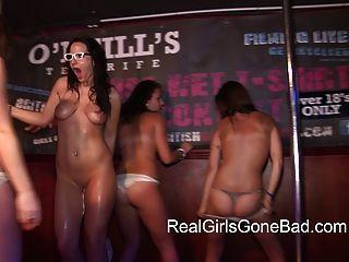 best of Girls stripped stage being Asian on