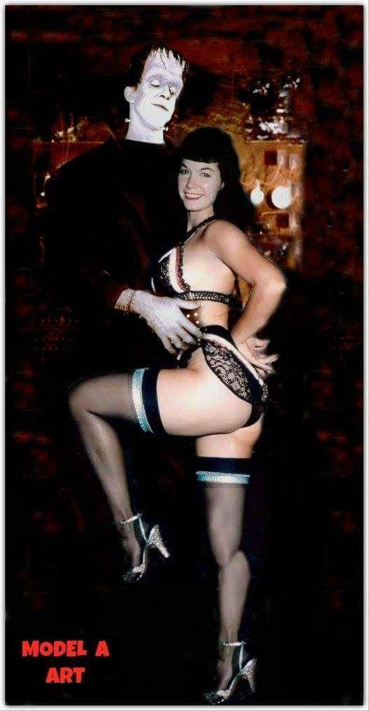 Opaline reccomend Betty page erotic ecards