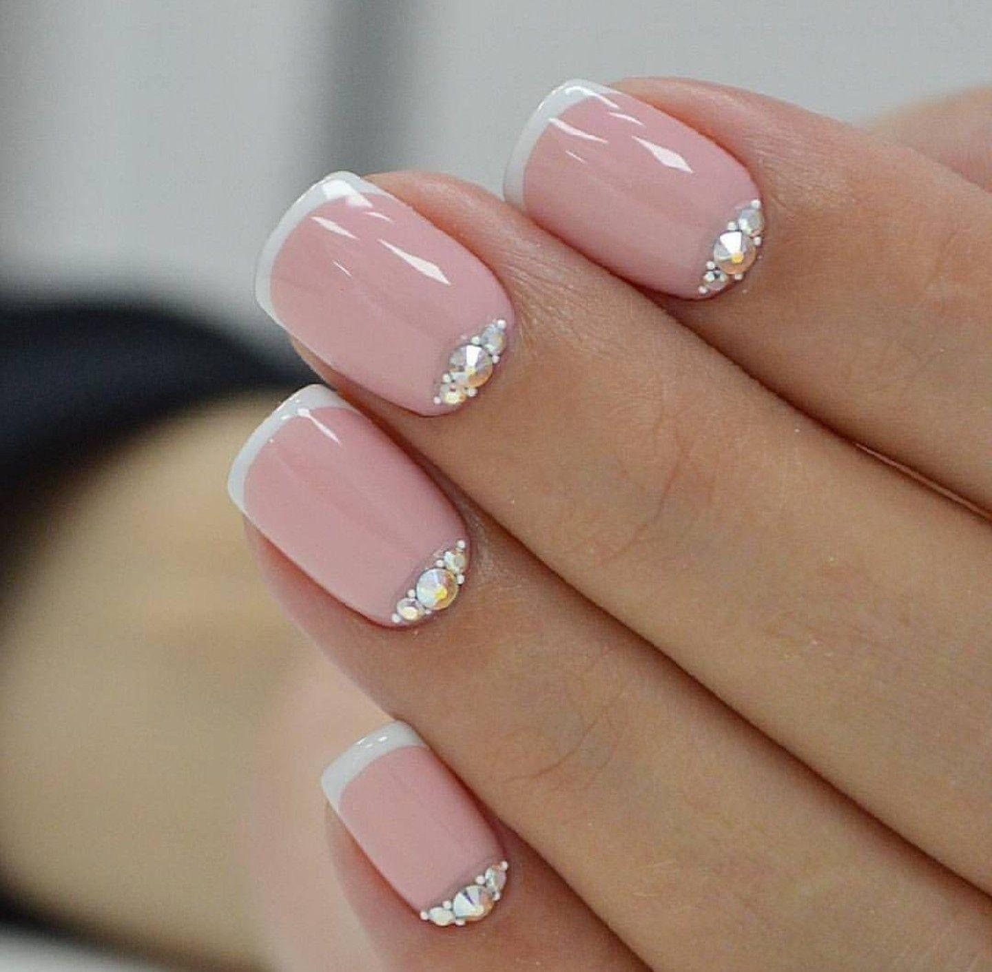 Fetish french manicure nail picture
