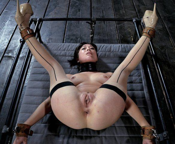 best of Spread Bondage leg