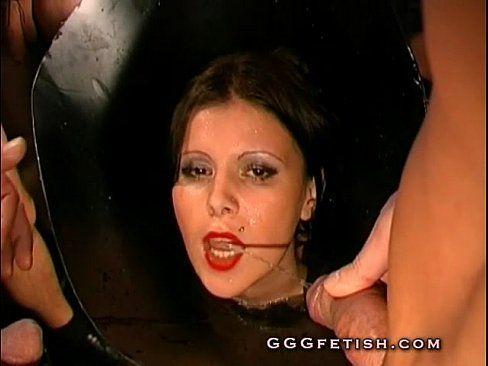best of Mad Chick of gets cumshot becuase