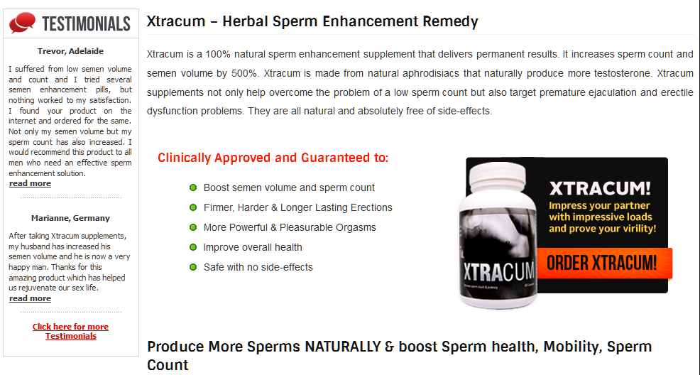 best of Count at gnc Increase sperm