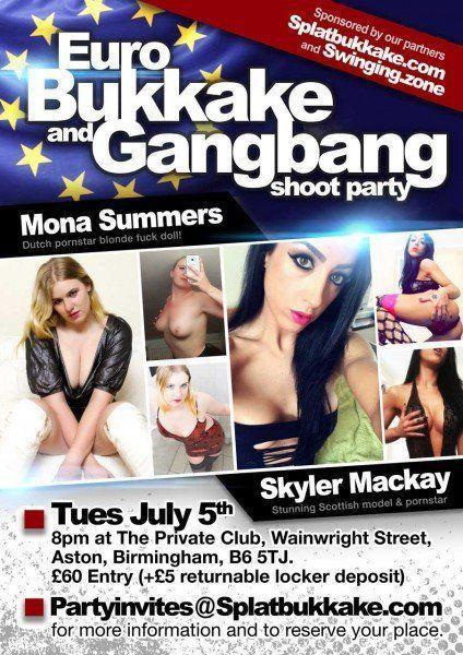 Code M. reccomend Bukkake party birmingham
