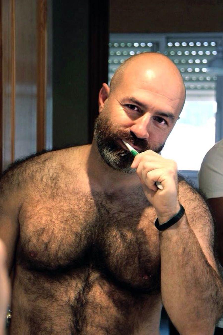 Extreme hairy gay fetish