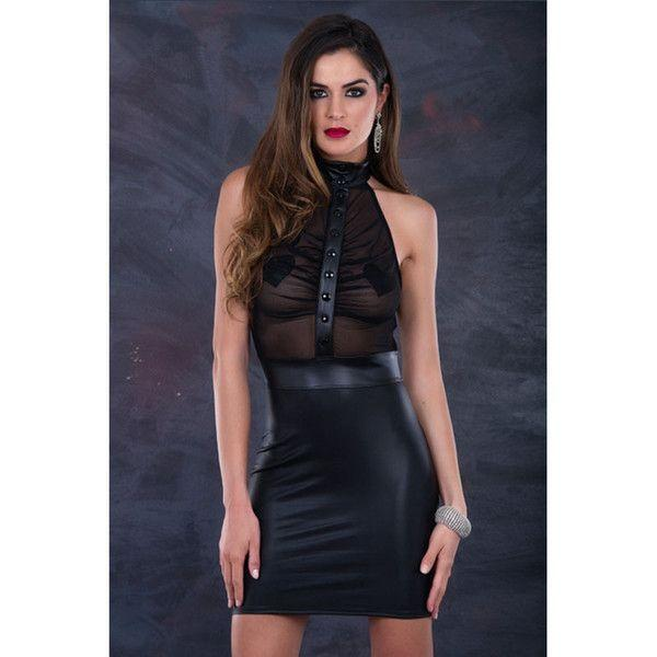 2-bit reccomend Erotic black dress