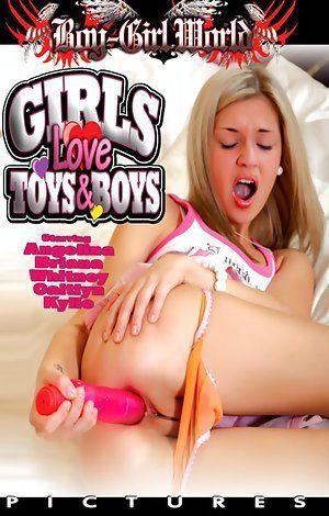 Girls playing with toys porno