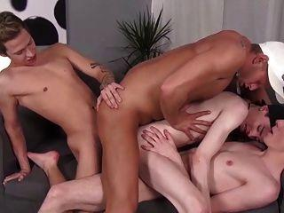 best of Taking three dicks Girls