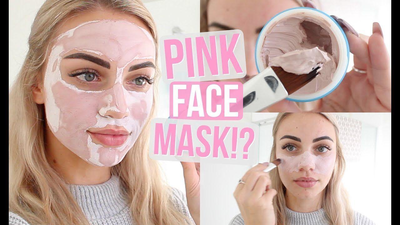 Tart reccomend Pink facial mask