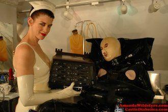 Vitamin C. reccomend Rubber humiliation cbt nurse fetish