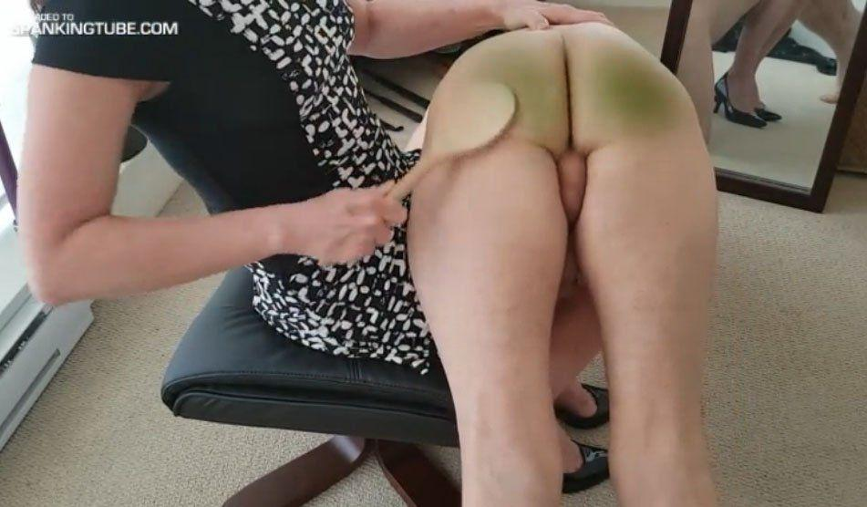 spanked and humiliated drunk son